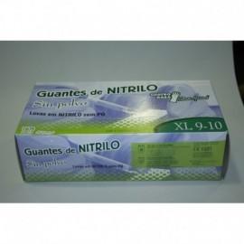 CAJA GUANTES NITRILO 100 UNIDS